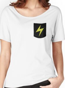 Pokemon Lightning Type Pocket Women's Relaxed Fit T-Shirt