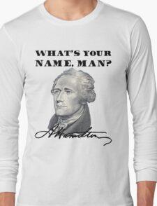 A. Hamilton Long Sleeve T-Shirt