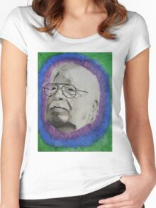 trippy grandpa Women's Fitted Scoop T-Shirt