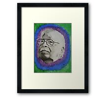trippy grandpa Framed Print