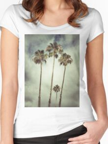 Tropic Storm Women's Fitted Scoop T-Shirt