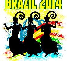 Brazil Carnaval by dejava