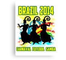 Brazil Carnaval Canvas Print