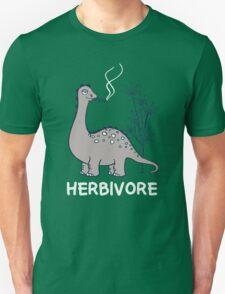 HERBIVORE FUNNY DINO Unisex T-Shirt