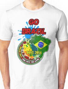 Brazil GO...GO Unisex T-Shirt