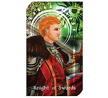 Knight of Swords Photographic Print