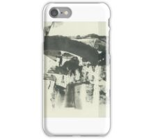 forest landscape minimalism (ink, paper, 2016) iPhone Case/Skin
