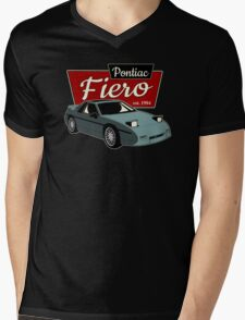 Pontiac Fiero - Vintage Mens V-Neck T-Shirt