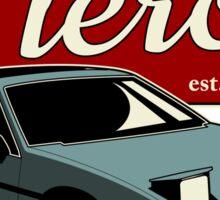 Pontiac Fiero - Vintage Sticker