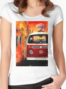 Kombi of Happiness Women's Fitted Scoop T-Shirt