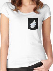 Pokemon Wind Type Pocket Women's Fitted Scoop T-Shirt