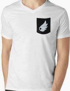 Pokemon Wind Type Pocket Mens V-Neck T-Shirt