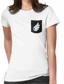 Pokemon Wind Type Pocket Womens Fitted T-Shirt