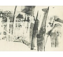 forest landscape minimalism (ink, paper, 2016) Photographic Print