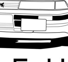 Toyota z20 Soarer - Front Sticker