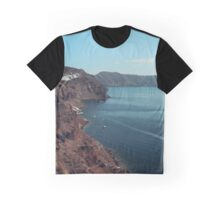 Santorini 3 Graphic T-Shirt
