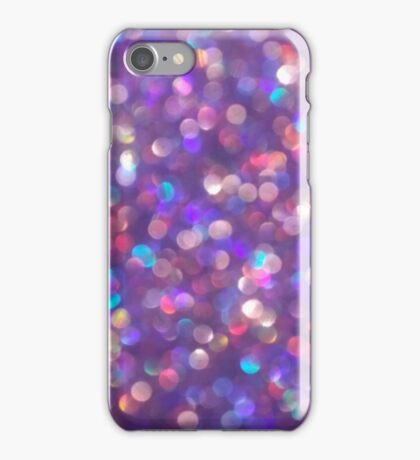 Purple Glitter iPhone Case/Skin