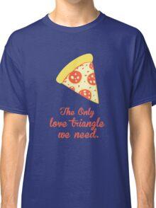 PIZZA LOVE TRIANGLE Classic T-Shirt