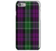 00949 Wilson's No. 158 Fashion Tartan  iPhone Case/Skin