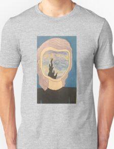 starry night faced girl  Unisex T-Shirt