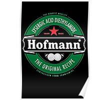 Hofmann LSD beer label Poster