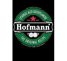 Hofmann LSD beer label Photographic Print