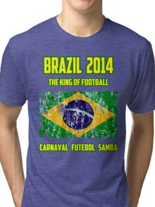 Brazil Futebol Tri-blend T-Shirt