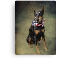 Faithful Friend and Companion Canvas Print