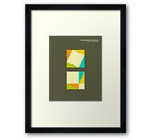 Pythagorean Theorem: Proof by Rearrangement Framed Print