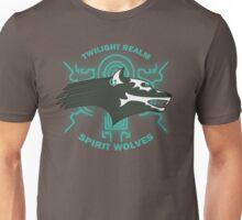 Twilight Realm Spirit Wolves Unisex T-Shirt