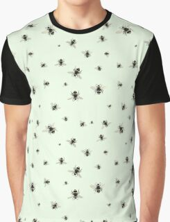 Bees (Pattern) Graphic T-Shirt