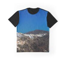 Santorini, Greece Graphic T-Shirt