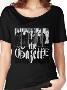 GAZETTE ROCK BAND Women's Relaxed Fit T-Shirt