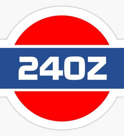 240z Sticker Sticker