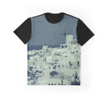 Santorini panorama Graphic T-Shirt