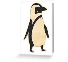 Penguin Swag Greeting Card