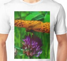 Fractalius Fritillary Unisex T-Shirt