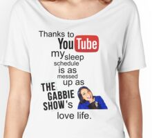 The Gabbie Show Original Quote Women's Relaxed Fit T-Shirt