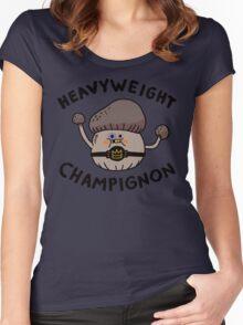 Heavyweight Champignon Women's Fitted Scoop T-Shirt