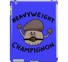 Heavyweight Champignon iPad Case/Skin