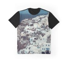 Santorini panorama, Greece Graphic T-Shirt