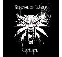 School of Wolf Initiate Photographic Print