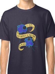 Mad Man With A Box Gallifreyan Classic T-Shirt