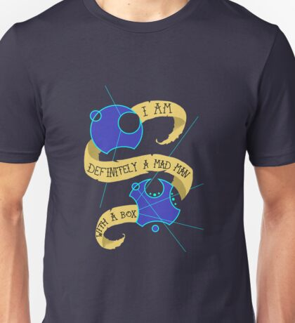 Mad Man With A Box Gallifreyan Unisex T-Shirt