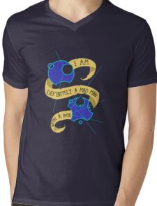 Mad Man With A Box Gallifreyan Mens V-Neck T-Shirt