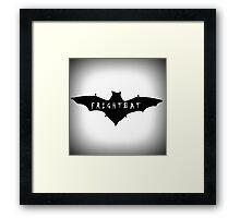 Feminist Frightbat Framed Print