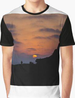 Solana Beach Sunset Graphic T-Shirt
