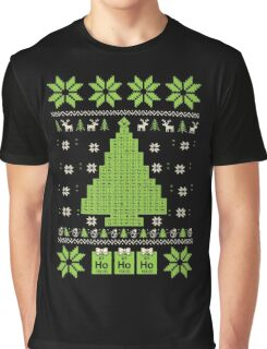 Chemistry - Tree Ugly Christmas Graphic T-Shirt