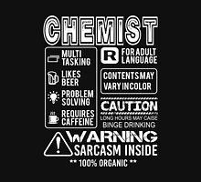 Chemistry - Warning Unisex T-Shirt