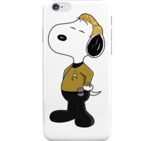 captain snoopy iPhone Case/Skin